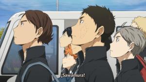 Ñyuum: Haikyuu!!: Karasuno Koukou VS Shiratorizawa Gakuen Koukou