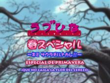 Fansubber: Love Hina: Especial primavera - Que no caiga la flor del cerezo