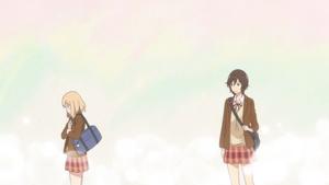 Happiness Team: Asagao to Kase-san.