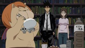 Backbeard, RedlineSP: Yondemasuyo, Azazel-san
