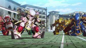 Tret: Shin Sakura Taisen the Animation