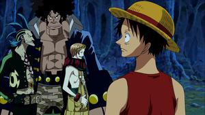 Keitaro_XP: One Piece: El gran soldado mecánico del castillo Karakuri
