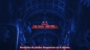Yoru no Kousen: Code:Realize: Sousei no Himegimi